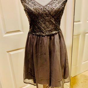 Hollister dress sequin details